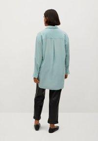 Violeta by Mango - SEDERA - Button-down blouse - wassergrün - 2