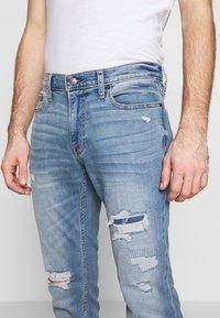 Hollister Co. - Jeans Skinny Fit - dark blue denim - 5