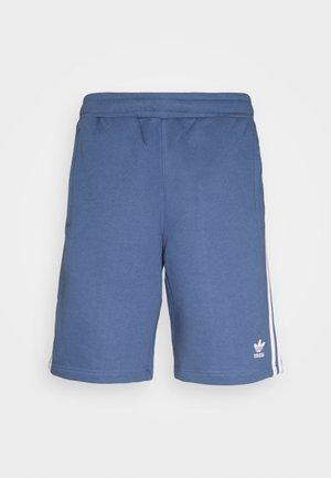 3 STRIPE UNISEX - Tracksuit bottoms - crew blue