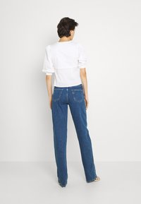 Selected Femme Tall - SLFBLAIR STRAIGHT LONG - Relaxed fit jeans - dark blue denim - 2
