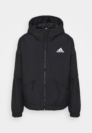 BACK TO SPORT HOODED INSULATED - Winter jacket - black