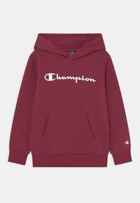 Champion - AMERICAN CLASSICS HOODED UNISEX - Bluza z kapturem - bordeaux - 0