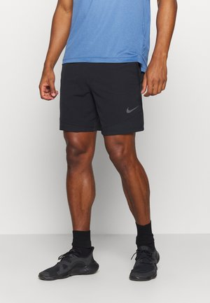FLEX SHORT - Pantalón corto de deporte - black/iron grey