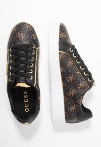 Guess - BANQ - Sneakers laag - bronze/black