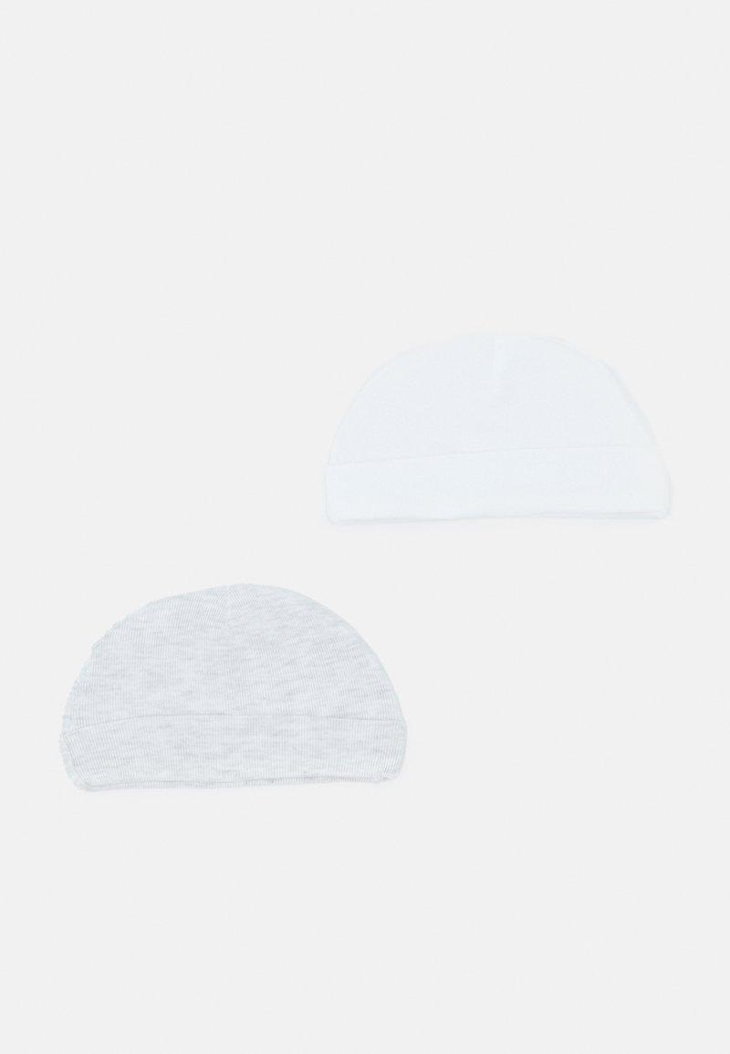 Carter's - HAT 2 PACK UNISEX - Beanie - white