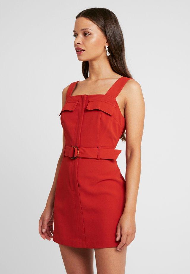 DRESS - Vestido informal - cognac