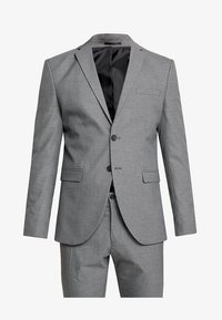 Selected Homme - SHDNEWONE MYLOLOGAN SLIM FIT - Suit - medium grey melange - 11