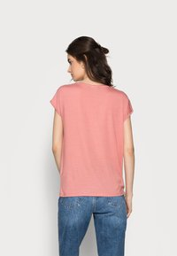 Vero Moda Tall - VMAVA PLAIN 2 PACK - Basic T-shirt - blue fog/old rose - 2