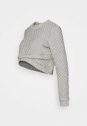 QUILTED - Sweater - white