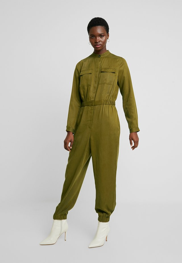 UTILITY JOGGER - Combinaison - cindered olive
