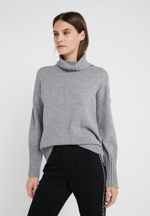 LUXURY WEEKEND ROLL NECK SWEATER - Neule - light grey