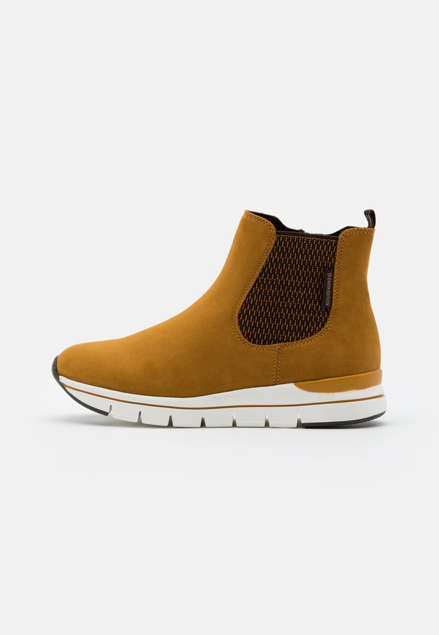BOOTS - Ankle boots - mustard