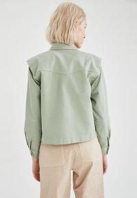 DeFacto - Button-down blouse - green - 2