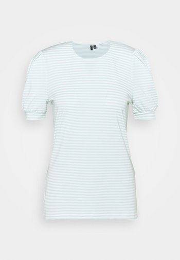 VMKATE - Print T-shirt - icy morn/white