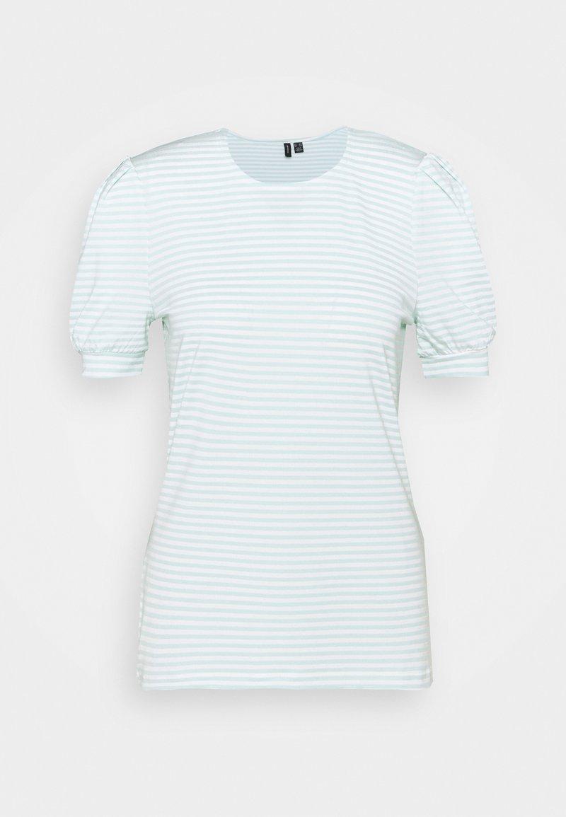 Vero Moda Tall - VMKATE - Print T-shirt - icy morn/white