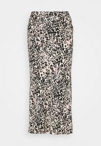 Calvin Klein - GATHERED DETAIL MIDI SKIRT - Pencil skirt - white smoke - 0