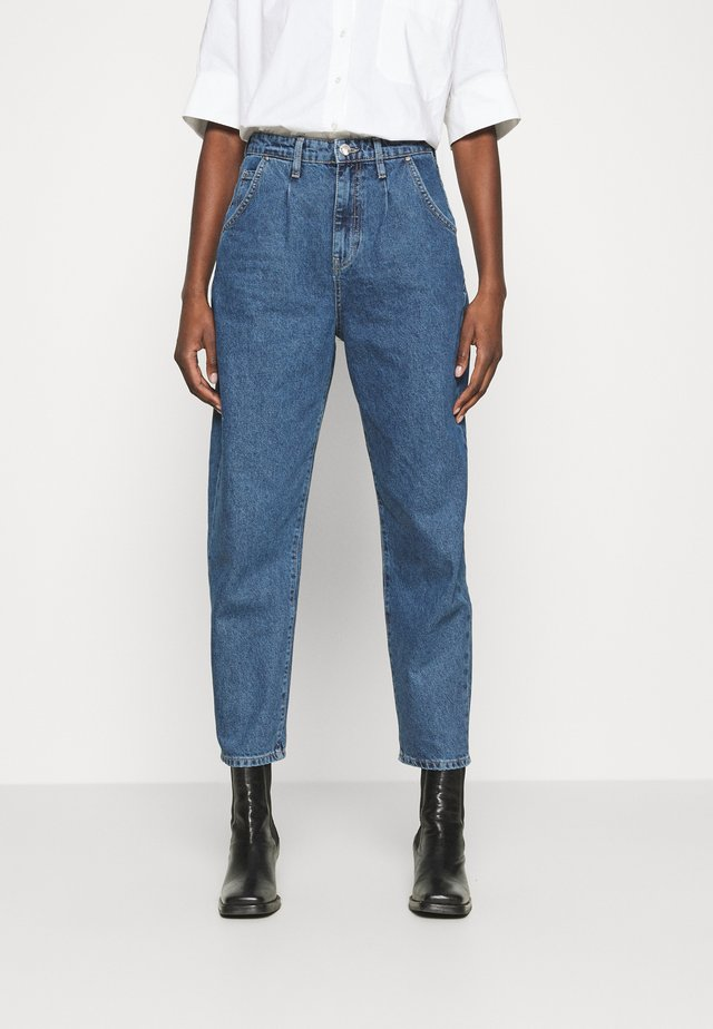LAURA - Jeans baggy - dark blue