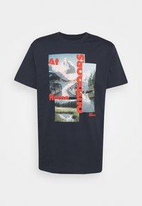 Jack Wolfskin - LAKE MORNING  - T-shirt print - night blue - 0