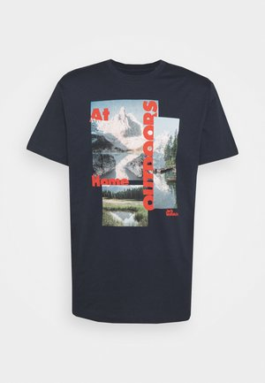 LAKE MORNING  - Print T-shirt - night blue