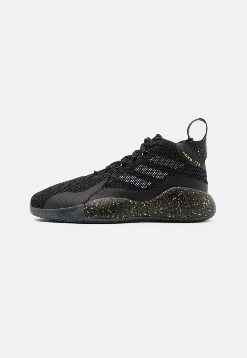 adidas Performance - ROSE 773 2020 - Basketball shoes - core black/gold metallic/footwear white