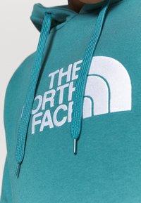 The North Face - WOMENS DREW PEAK HOODIE - Hoodie - mallard blue - 4