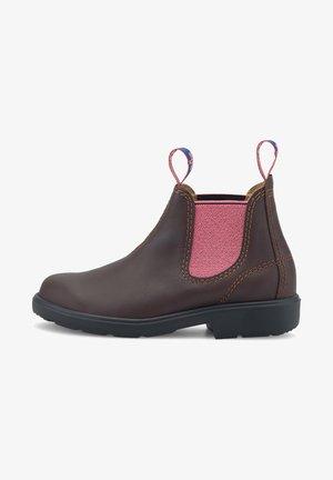 LITTLE BOSS - Classic ankle boots - mittelbraun