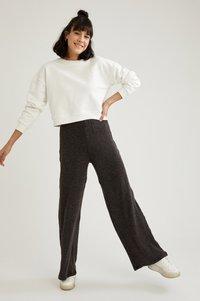 DeFacto - Trousers - black - 1