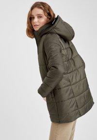 DeFacto - Winter coat - khaki - 4