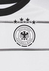 adidas Performance - DEUTSCHLAND DFB HEIMTRIKOT BABYKIT - Pelipaita - white/black - 5