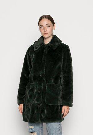 VIBODA COLLAR COAT - Winter coat - darkest spruce
