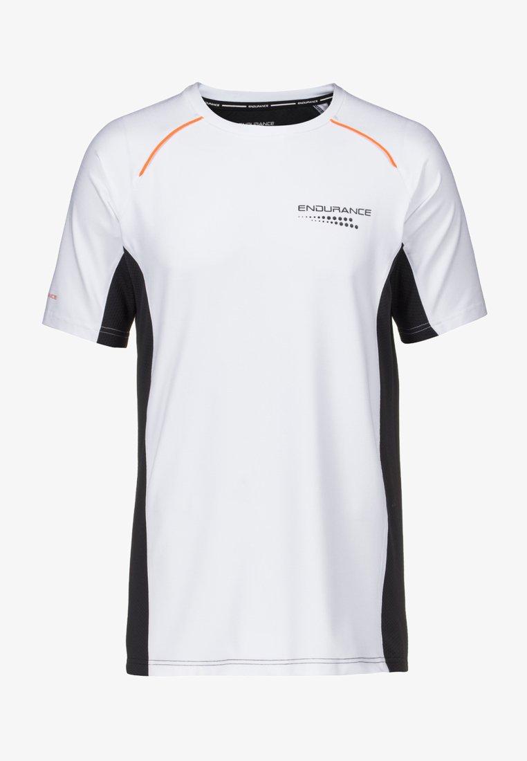 Endurance - MIT QUICK DRY TECHNOLOGIE - Print T-shirt - white