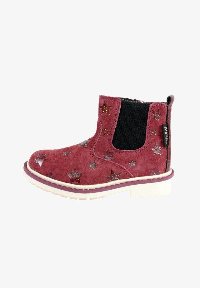 MIT REISSVERSCHLUSS - Boots - cardinal