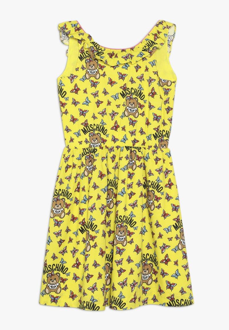 MOSCHINO - DRESS - Denní šaty - yellow