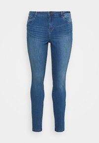 Vero Moda Curve - VMTANYA MRS PIPING  - Jeans Skinny Fit - medium blue denim - 5