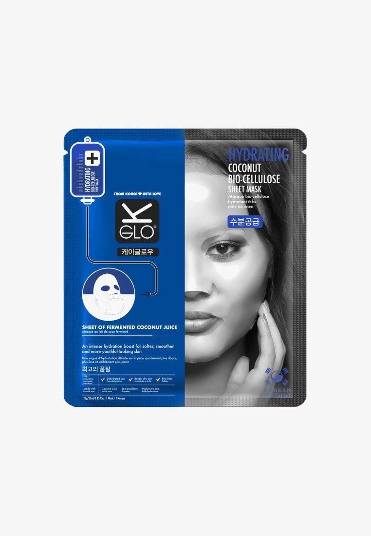 K-Glo - HYDRATING COCONUT BIO-CELLULOSE SHEET MASK25ML - Face mask - -