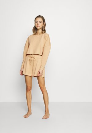 ONLNORA LOUNGEWEAR SET - Pyjama - ginger root