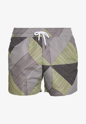 TRUNK SPORT WEAVE - Swimming shorts - slate/citron