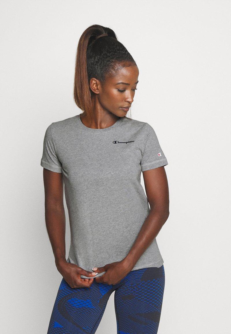 Champion - ESSENTIAL CREWNECK LEGACY - T-shirts - grey heathered