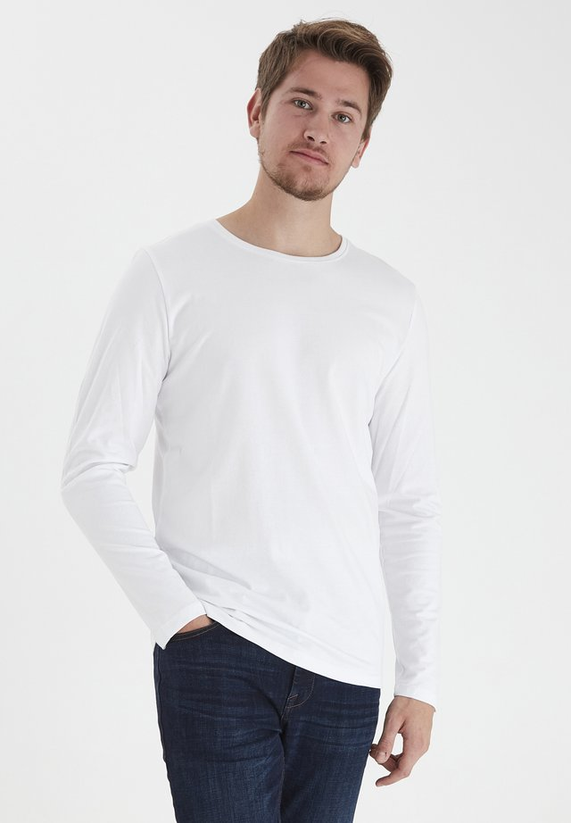 THEO LS  - Long sleeved top - bright white
