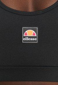 Ellesse - GRIZA - Medium support sports bra - black - 3