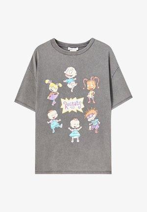 RUGRATS  - T-shirt imprimé - grey