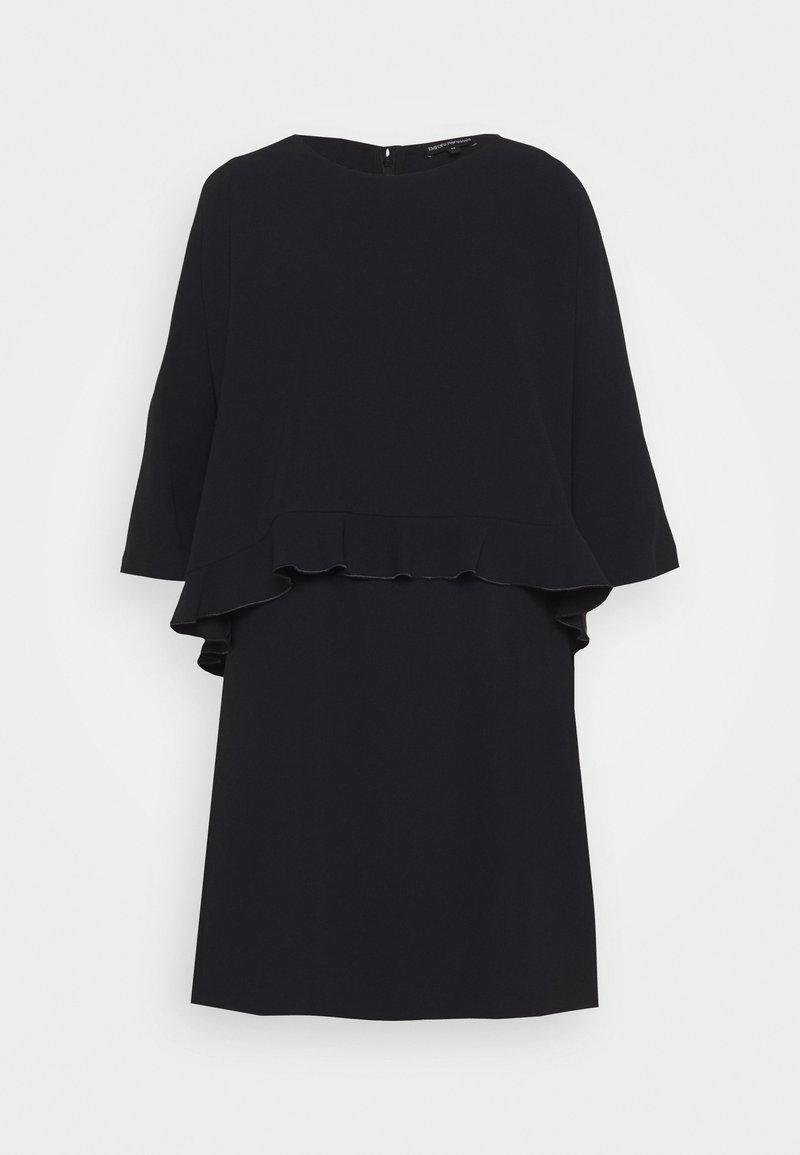 Emporio Armani - DRESS - Shift dress - black