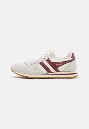 DAYTONA - Sneakers laag - offwhite/deep red/gum