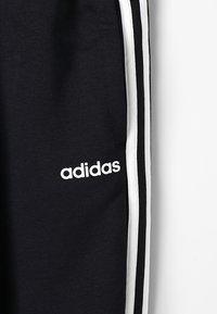 adidas Performance - 3S PANT - Tracksuit bottoms - black/white - 5