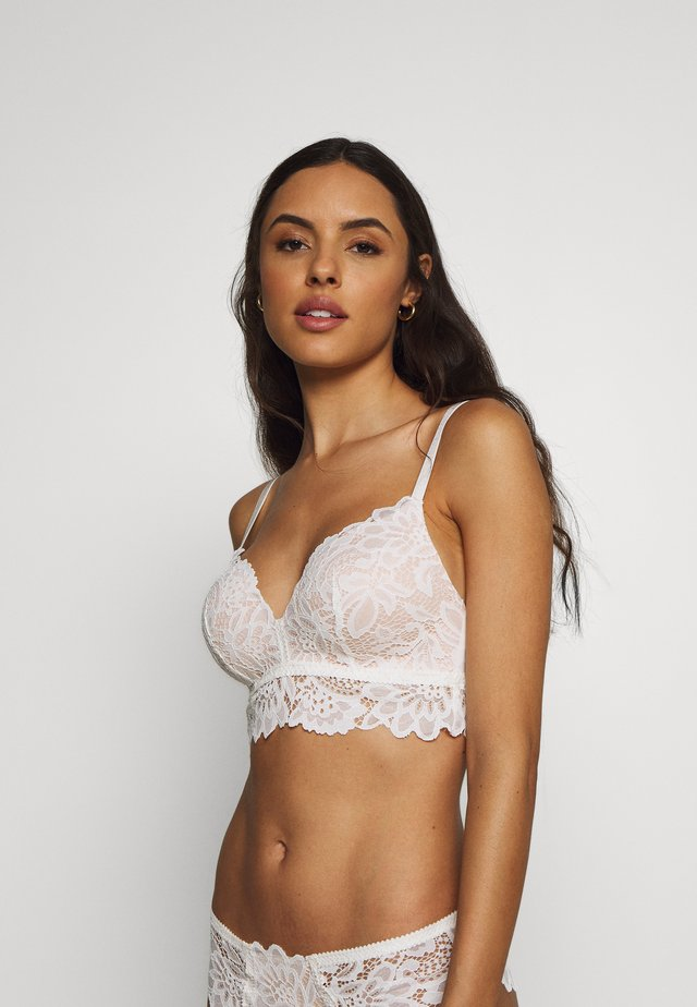 SHILOH NON WIRE - Triangle bra - snow white