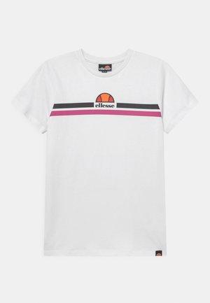 KILYO TEE - Print T-shirt - white