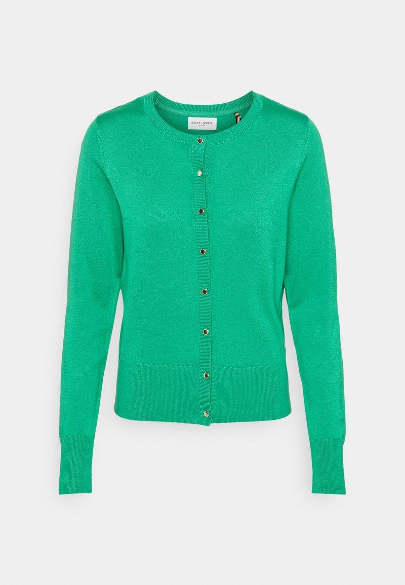 Lindex - CARDIGAN ANNA - Cardigan - strong green
