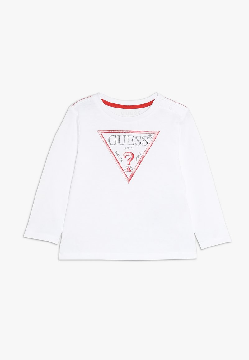 Guess - CORE BABY - Long sleeved top - true white