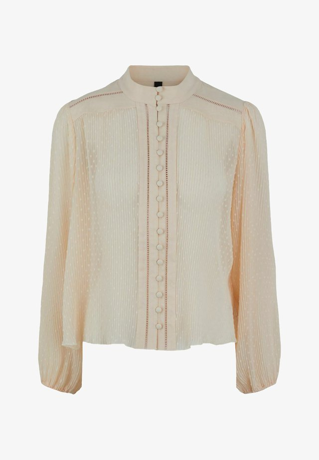 HEMD YASSEDNA - Button-down blouse - nude