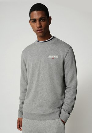 B-ICE CREW - Trui - medium grey melange